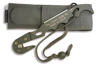 Picture of OKC FG Model 1 Strap Cutter with Sheath - Ontario Knife Company
