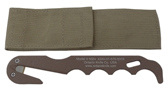 Picture of Model 4 Strap Cutter - Coyote Brown by OKC®