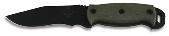 Picture of NS 4 - Black Micarta  - Ontario Knife Company