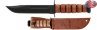 Picture of Genuine USMC Combat Knife by KA-BAR® With Leather Sheath