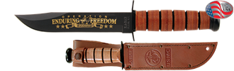 Picture of USMC Operation Enduring Freedom Commemorative Knife by KA-BAR