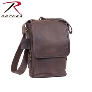 Leather Military Tech Shoulder Bag