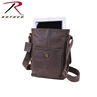 Leather Military Tech Shoulder Bag