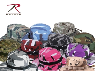 9c0a8f76420dd Picture of Boonie Hat Camo Cotton Polyester by Rothco®
