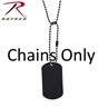 Dog Tag Chains by Rothco
