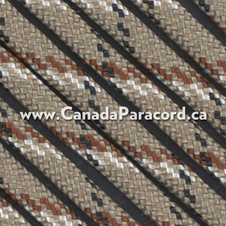 Desert Camo - 95 Paracord Type 1 Nylon - 100 Feet