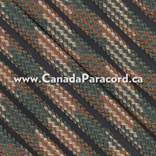 """M"" Camo - 1,000 Foot - 550 LB Paracord"