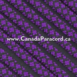 Acid Purple Diamonds - 100 Ft - 550 LB Paracord