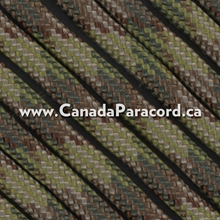 Multi Camo - 100 Foot - 550 LB Paracord