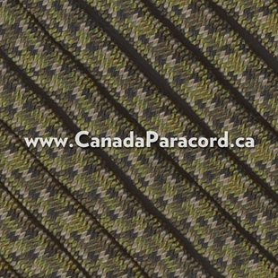 Canadian Digital Camo - 95 Paracord Type 1 Nylon - 100 Feet