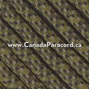 Canadian Digital Camo - 95 Paracord Type 1 Nylon - 100 Feet