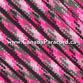 Pretty in Pink - 95 Paracord Type 1 Nylon - 100 Feet