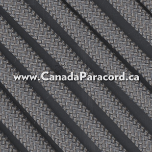 Charcoal - 95 Paracord Type 1 Nylon - 100 Feet