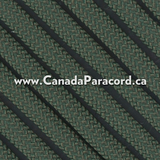 Dark Green - 95 Paracord Type 1 Nylon - 100 Feet