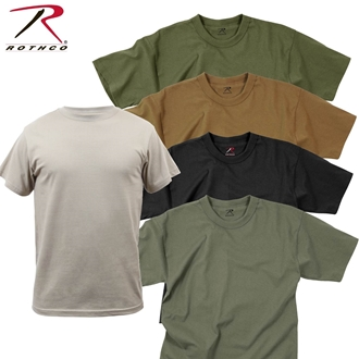 T-Shirt - Solid Colour 100% Cotton by Rothco