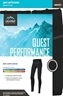 Women's Quest Performance 52 Long Underwear Pant by ColdPruf®