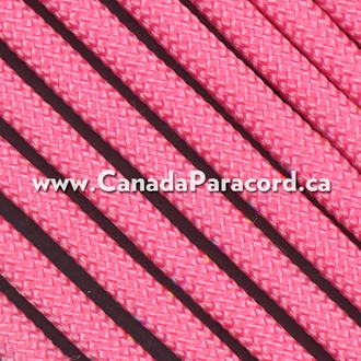 Rose Pink - 1,000 Feet - 550 LB Paracord