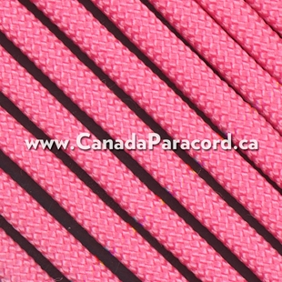 Rose Pink - 50 Feet - 550 LB Paracord