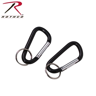 60mm Accessory Carabiner with Key Ring by Rothco