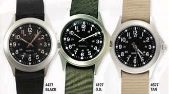 Military Style Quartz Watch by Rothco®