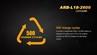 18650 ARB-L18-2600 Rechargeable Li-ion Battery by Fenix™