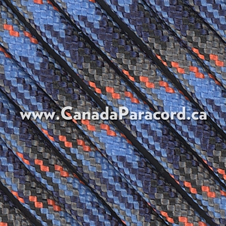 Survival Camo - 95 Paracord Type 1 Nylon - 100 Feet