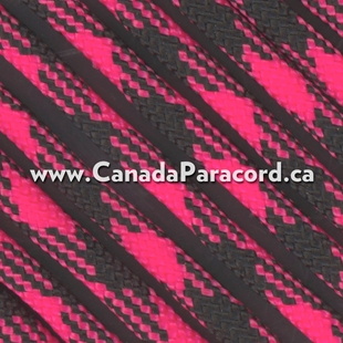 Beauty Goes Goth - 50 Ft - 550 LB Paracord