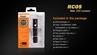 RC05 2017 Flashlight - Max 300 Lumens by Fenix™ Flashlight