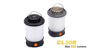CL30R Camping Lantern - Max 650 Lumens by Fenix™ Flashlight