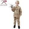 Kids Poly/Cotton Digital Camo BDU Coat by Rothco®