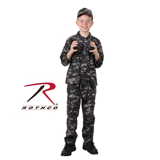 ACU Digital Camo Rothco 66110 Kids Digital Camo BDU Pants