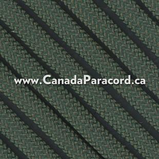 Dark Green - 50 Feet - 550 LB Paracord
