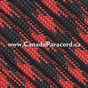 Black Widow - 50 Foot - 550 LB Paracord