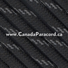 Black with Reflective Fleck - 1,000 Feet - 11 Strand Paracord