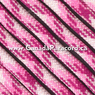Breast Cancer Awareness - 250 Feet - 550 LB Paracord