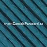 Caribbean Blue - 50 Feet - 550 LB Paracord