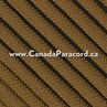 Coyote Brown - 250 Feet - 550 LB Paracord