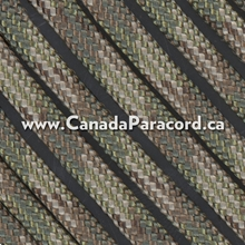Dark Multi Camo - 100 Feet - 550 LB Paracord
