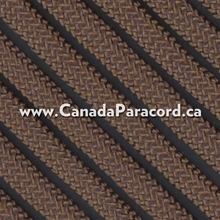 Dark Brown - 100 Feet - 550 LB Paracord