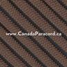 Dark Brown - 100 Feet - 550 LB Paracord