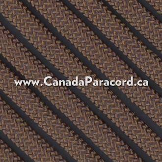 Dark Brown - 50 Feet - 550 LB Paracord