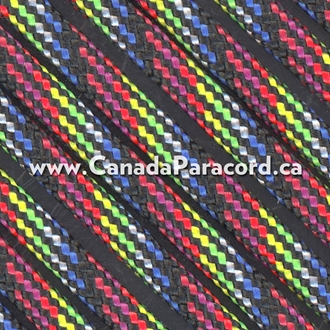 Dark Stripes - 250 Feet - 550 LB Paracord
