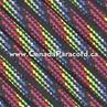 Dark Stripes - 250 Feet - 550 LB Paracord