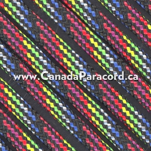 Dark Stripes - 50 Foot - 550 LB Paracord