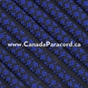 Electric Blue Diamonds - 50 Ft - 550 LB Paracord