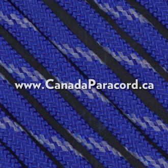 Electric Blue w/ Reflective Fleck - 50 Ft - 550 Cord