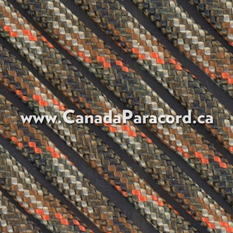 Fall Camo - 50 Foot - 550 LB Paracord