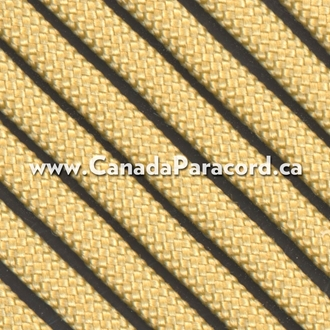 Gold - 250 Feet - 550 LB Paracord