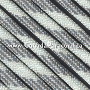 Grey Scale - 1,000 Feet - 550 LB Paracord