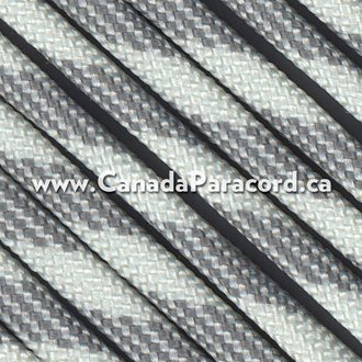 Grey Scale - 100 Feet - 550 LB Paracord